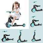 Flash Offers BEBEHOO 5 In 1 Multifunctional Deformation Tricycle Kids Scooter Max Load 20kg Children Balance Bike Three-wheeled Bike From Xiaomi Youpin