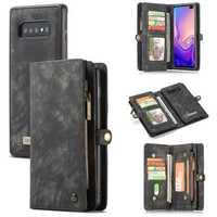 CaseMe Magnetic Detachable Wallet Protective Case For Samsung Galaxy S10/S10 Plus