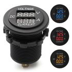 Meilleur prix DC 12V 24V Car Voltmeter Ammeter LED Display Digital Voltage Meter