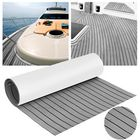 Acheter au meilleur prix 240cm x 45cm x 6mm Grey EVA Foam Teak Sheet Boat Yacht Synthetic Teak Decking With Glue