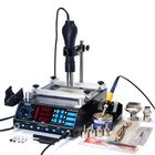 Meilleurs prix YIHUA 853AAA 220V 3 In 1 Preheating Station Infrared BGA Rework Soldering Station Hot Air Heater 60W Tin Soldering Iron