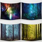Les plus populaires Forest Tree Indian Tapestry Beach Towel Bedspread Blanket Wall Hanging Throw Mat Home Decor