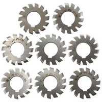 8pcs Module 1 PA20 Bore 22mm #1-8 HSS Involute Gear Milling Cutter