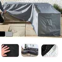 L Shape Furniture Waterproof Cover Outdoor Patio Garden Sofa Table Chair Dust Protector