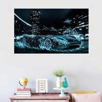Super Cool Speed Car on Water 5D Diamond Painting Embroidery Home Decoration