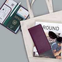 Women Men Outdoor Boarding Must-have Passport Bag