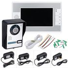 Meilleurs prix Wired 7 inch Color Video Door Phone Doorbell Intercom Security System with 1 Monitor