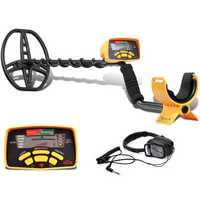 MD-6350 Underground Metal Detector Gold Digger Treasure Hunter Professional Detecting Equipment Pinpointer LCD Display