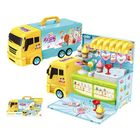 Meilleur prix 2 In 1 Kitchen Ice Cream Car Tool Set Car Kitchen Cooking Car Toys Play Set Detachable House Toy for Kid Playset