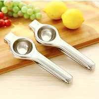1PCS Stainless Steel Hand Manual Lemon Juicer Orange Squeezer Juice Extractor Fruit Juicer