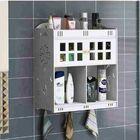 Offres Flash Bathroom Cosmetics Storage Hanging On Wall Mount Cabinet Desktop Organizer Box