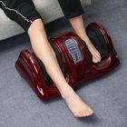 Bon prix 110V 220V Electric Heating Foot Body Leg Massager Shiatsu Kneading Roller Vibrator Machine Reflexology Calf Leg Pain Relief Relax