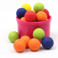 100pcs/bag Nerf Rival Toys Compatible Balls Rounds For Nerf Rival Zeus Apollo Refill Yellow Or Red