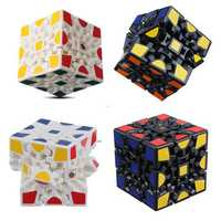 Three Order Gear Cube Anxiety Stress Relief Fidget Toy Focus Adults Kids Attention Gift
