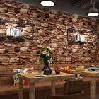 Meilleurs prix Simulation Stone Retro Background Wall Paper Sticker Living Room Bedroom Decorative