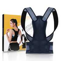 Back Posture Corrector Adjustable Back Brace Shoulder Posture Correction Lumbar Waist Support Belt Pain Relief