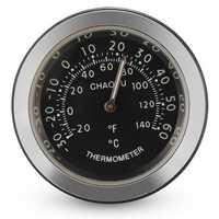 Car A/C Vent Clip Thermometer Clock Gauge Trim Perfume Refill Storage Fragrance