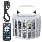 Meilleurs prix 30W Led DMX512 RGBW Stage Light Auto/Sound Control 9 Color DJ Disco + Remote