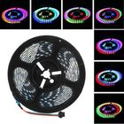 Acheter LUSTREON 1M 2M 3M 4M 5M IP65 60LEDs/M 5050 GRB GT2812 Magic Color Smart IC LED Strip Light DC5V