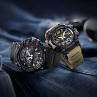 TwentySeventeen QingPai Luminous Dual Display Watch