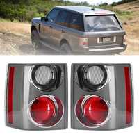 Rear Left/Right Car Tail Light Assembly Brake Lamp White+Red for Range Rover Vogue L322 2002-2009