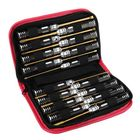 Acheter au meilleur prix Yunzhong 16Pcs Hex Phillips Screw Nut Flat Screwdriver Tools Box Set with Bag for RC Model