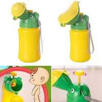 500ML Portable Baby Child Urinal Mini Car Travel Toilet Boy Girl Kid Potty Training Urination