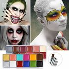 Meilleur prix IMAGIC 12 Colors Flash Tattoo Face Body Paint Oil Painting Art use in Halloween Party Fancy Dress Beauty Makeup Tool