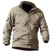 Tactical Sunscreen Breathable Outdoor Skin Jacket Men's Ultra Thin Quick Dry Casual Sports Coat
