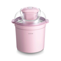 YOULG 0.8L/12W Home Full Automatic Soft Hard Ice Cream Maker Machine Electric Ice Cream Maker From Xiaomi Youpin