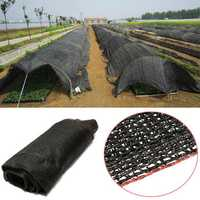 10 20 FT Garden Plant Black Sunshade Net Balcony Yard Patio Greenhouse Insulation Shading Netting