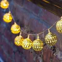 KCASA SSL-12 LED 4.8M 20LED Gardening Solar Panel Light Ball Holiday Garden Party Wedding Decoration
