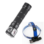 Meilleurs prix SKILHUNT H03 RC L2 U4 1200LM NW/CW Magnetic Charging LED Flashlight Outdoor Headlamp Headlight