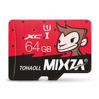 Mixza Year of Monkey Limited Edition 64GB U1 TF Micro Memory Card for Digital Camera MP3 TV Box Smartphone