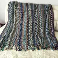 Indian Mandala Tapestry Blanket Wall Hanging Bohemian Bedspread Window Curtain Dorm Decor