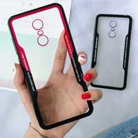 Bakeey™ Acrylic Mirror Back Silicone Frame Shockproof Protective Case for Xiaomi Redmi 5 Plus