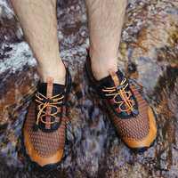 Men Slip Resistant Breathable Outdoor Sneakers