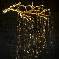Solar Powered 8 Modes Copper Wire 200 LED Christmas Tree Fairy String Wedding Home Party Decor Light