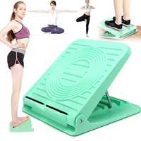 Calf Stretching Balancing Exercise Stretching Shaft Support Muti-position Adjustment Slant Board