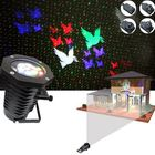 Meilleur prix 12W 10 Patterns+ Red Green Star Laser Projector Remote Stage Light Outdoor Christmas Party Decor