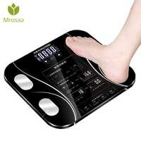 Mrosaa Body Fat Scale Smart Electric Digital Weight Scales