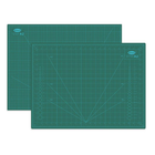 Meilleur prix Allwin 883A2 A2 PVC Rectangle Cutting Mat Three-layer Pad Self-healing Cutting Mat Tool Fabric Leather Paper Craft DIY Tools