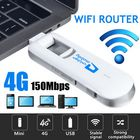 Bon prix USB 4G LTE Dongle WiFi Router 150Mbps Mobile Broadband Modem B1/B3 PLUG & PLAY