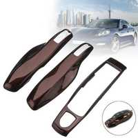 3pcs ABS Remote Key Case Shell Covers Set for Porsche