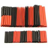 127Pcs Halogen-Free 2:1 Heat Shrink Tubing Wire Cable Sleeving Wrap Wire Kit