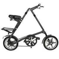 Folding Bike MINI Bicycle 16inch Wheel Smallest Aluminum Alloy Frame