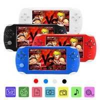 A15 Rechargeable 5.0 inch 8G Handheld Video Game Console MP4/MP5 Player Camera