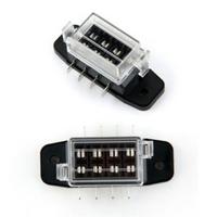 4 Way Circuit Car Automotive ATC ATO Blade Fuse Box Block Holder Fuse Holder 32V