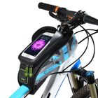 Promotion ROCKBROS 021 MTB Road Bicycle Bike Bag Rainproof Touch Screen Cycling Top Front Tube Frame Bags 6.0