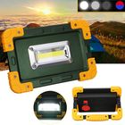 Bon prix 30W 3.7V LED COB Work Lantern Spot Flood Light USB Rechargeable Camping Tent Lamp